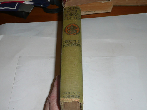 Scouting With General Funston, Everett T. Tomlinson, Every Boy's Library Edition, Type Two Binding