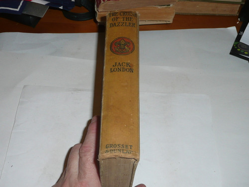 The Cruise of the Dazzler, By Jack London, Every Boy's Library Edition, Type Two Binding, some spine wear