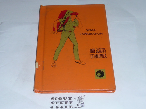 Space Exploration Library Bound Merit Badge Pamphlet, Type 7, Full Picture, 5-71 Printing