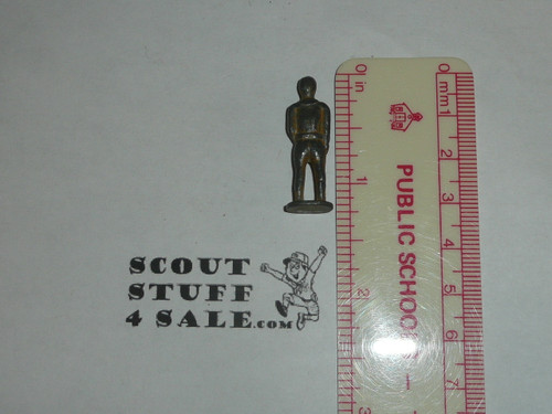 "1 1/4"" High Lead Boy Scout Figurine, RARE"