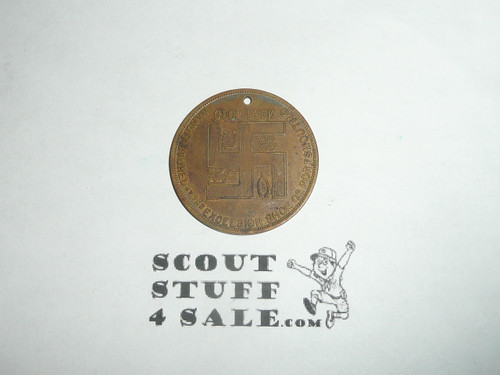 Excelsior Shoe Company Teens Boy Scout Coin / Token #7