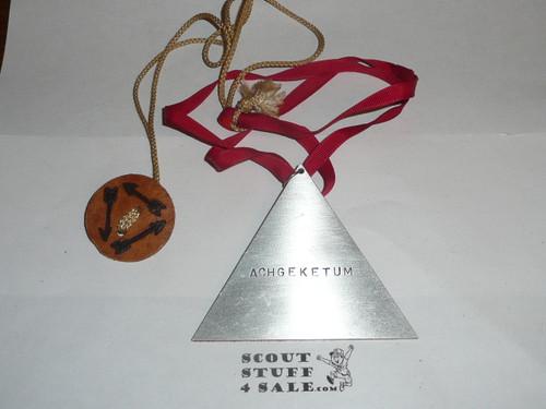 Order of the Arrow Lodge #566 Malibu Bill Stroh Vigil Medallion, Highly Cherished by Malibu Vigils