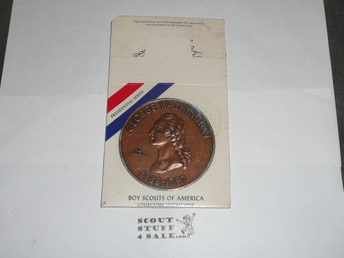 Large George Washington Coin/Medallion made by the Boy Scouts in 1979