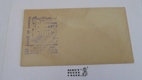 1953 National Jamboree Envelope