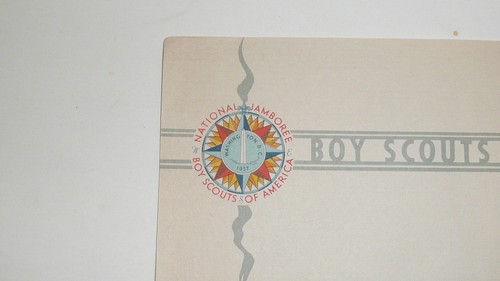 1937 National Jamboree Stationary