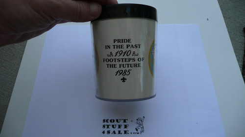 1985 75th BSA Anniversary Travel Mug - Boy Scout