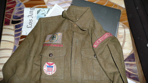 1929 World Jamboree, Special BSA Wool Uniform Shirt only used by the BSA for the 1929 WJ, with all insignia, VERY RARE #2