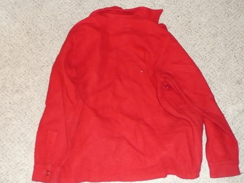 Official Boy Scouts of America Red Wool Jacket  -  Size 38, used, #FB6