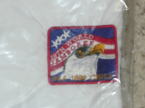 1999 World Jamboree USA Contingent Nylon Jacket, 3XL, New in bag