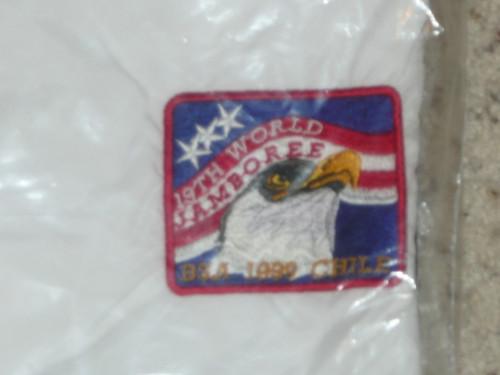 1999 World Jamboree USA Contingent Nylon Jacket, 3XL, New in bag