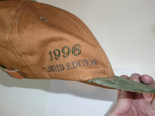 1996 Special Edition Boy Scout Baseball Cap, one size fits all, unused