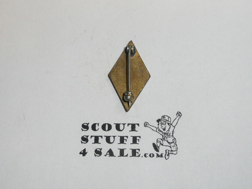 Red Cross Junior Lifesaving Service enemaled Scout Pin, 1930s