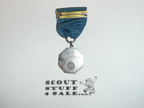 Boy Scout Silver Contest Medal, 1955 Honor Scout