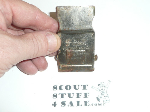 1920's Sigmund Eisner Boy Scout Friction Belt Buckle, used