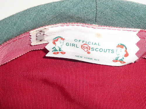 1940's Girl Scout Leader Hat/Beret, Medium