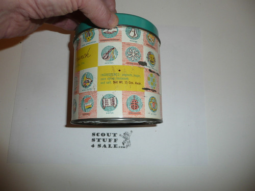 OLD Girl Scout Peanut Crunch Tin