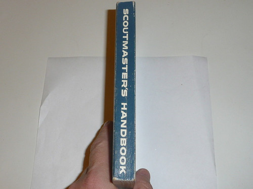 1961 Scoutmasters Handbook, Fifth Edition, Third Printing, Very Good Condition, Norman Rockwell Cover