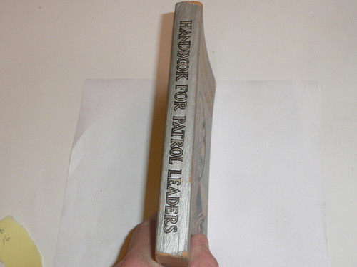1941 Handbook For Patrol Leaders, First Edition, tenth Printing, Very Good used Condition