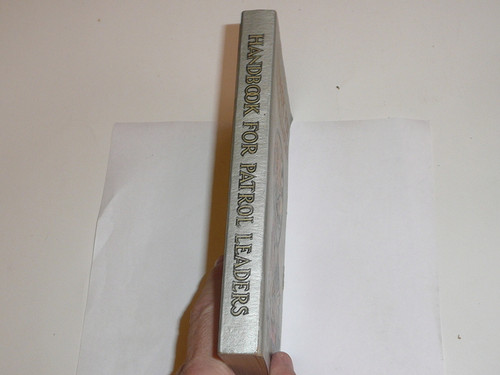 1949 Handbook For Patrol Leaders, First Edition, Eighteenth Printing, MINT Condition