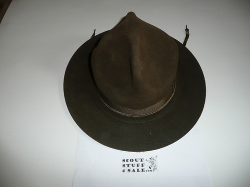 Official Boy Scout Campaign Hat (Smokey the Bear hat), size 6 1/2, Near MINT, CH2