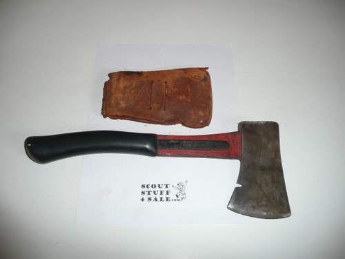 Vintage Official Boy Scout Axe / Hatchet made by Vaughn, used