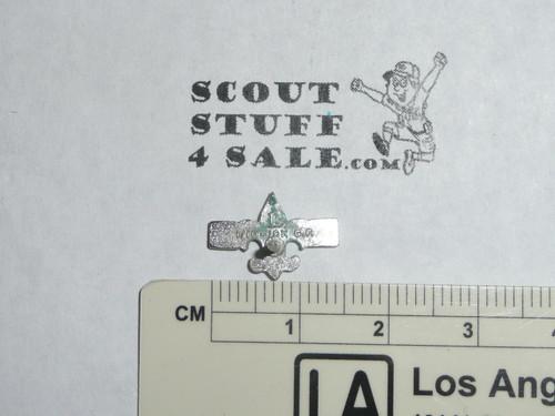 "Silver Beaver Award Lapel Pin, 1960's, ""L"" Hallmark, 10k GOLD filled"