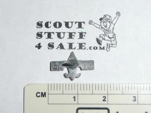 Silver Beaver Award Lapel Pin, 1970's, Robbins Hallmark