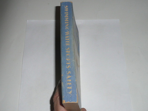 1938 Swimming Water Sports & Safety, Fourth Edition, First Printing