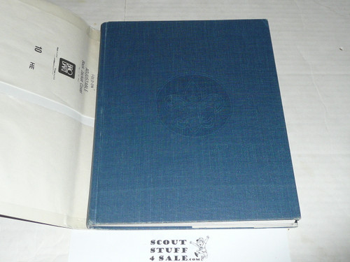 1984 The Boy Scouts An American Adventure, 75th Anniversary Commemorative, With Dust Jacket, MINT, obscure cover designs
