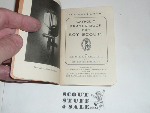 Catholic Prayer Book for Boy Scouts, 1943