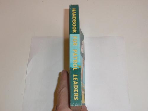 1957 Handbook For Patrol Leaders,  World Brotherhood (Second) Edition, MINT Condition