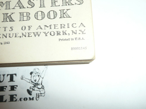1945 Cubmaster's Packbook, Cub Scout, 11-45 Printing