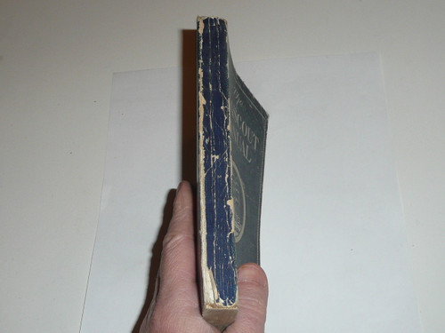 1929 The Sea Scout Manual, Fifth Edition, 1929 Printing, some wear