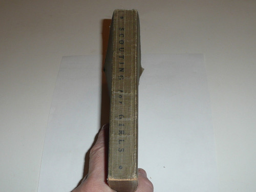1920 Scouting for Girls, Official Girl Scout Handbook, marked second edition but has the 1920 date