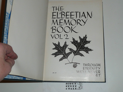 The Elbeetian Book of Memories Volume 2, Lone Scout, 1963
