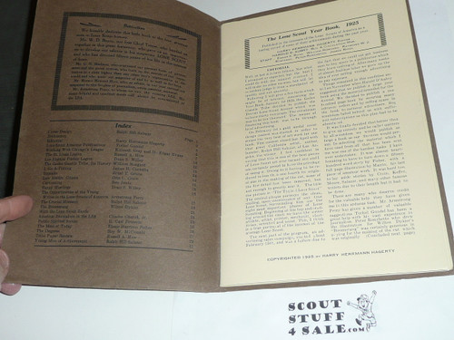 1925 Lone Scout of America Yearbook