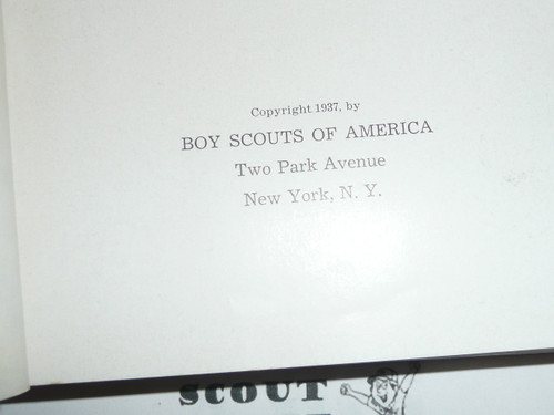 Scouting Marches on, A history of the Boy Scouts of America, 1937, the first 25 years.  Awesome history book, MINT