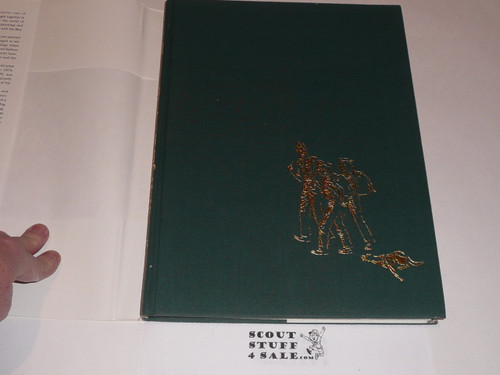 1977 Norman Rockwell's World of Scouting, Hardbound with flyleaf