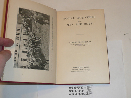 1910 Social Activities for Men and Boys, YMCA