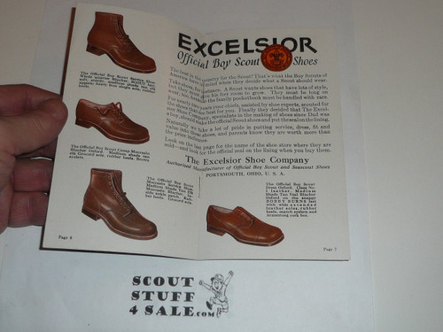 1920's Know Your Knots, promotional brochure for Excelsior Shoe Company
