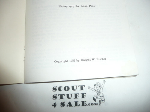 1952 Wabaningo Lodge Emblem Handbook by Dwight Bischel, the book that started OA collecting, appears to be a reproduction