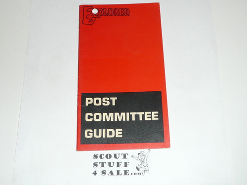 1969 Post Committee Guide, 6-70 printing