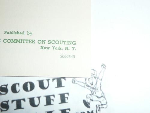 1943 Catholic Investiture Ceremonies for Cub Scouts, 5-43 Printing