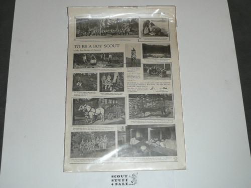 1918 August Ladies' Home Journal Article about Boy Scouts