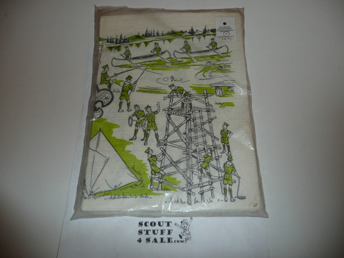 25 Colorful Official Boy Scout Place Mats, New in package