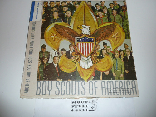 1967 Official Boy Scout Album, The Methods of Cub Scouting