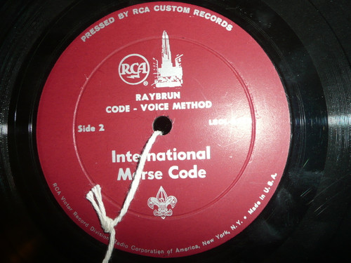 Official Boy Scout Record Album, Learn International Morse Code