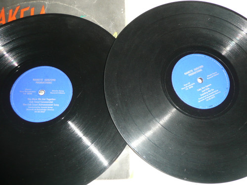 """""""Akela"""" Song Record Album for Cub Scouts, 2 record set"""