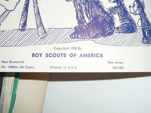 1958 Pow Wow Guide, Boy Scouts of America, 10-58 Printing