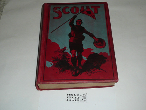 """1910-11 Bound complete volume of """"The Scout"""", United Kingdom Youth Scout Magazine"""
